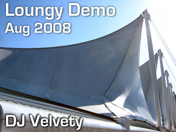 Graham Davis - DJ Velvety - Loungy Demo Aug 2008 CD Cover
